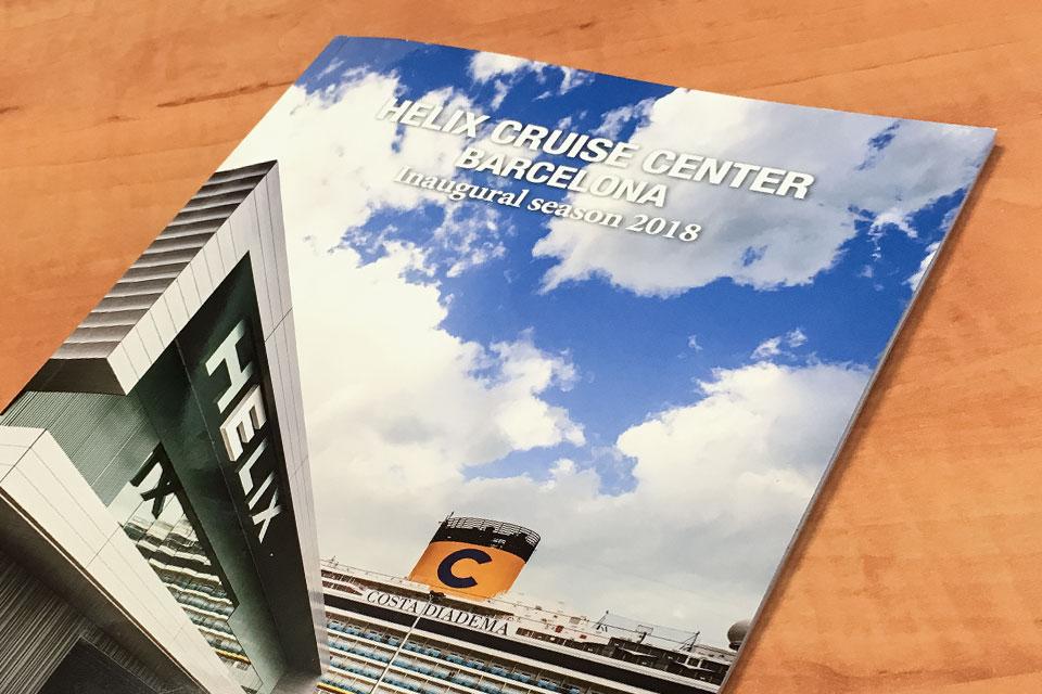 Revista Helix Cruise Center Barcelona