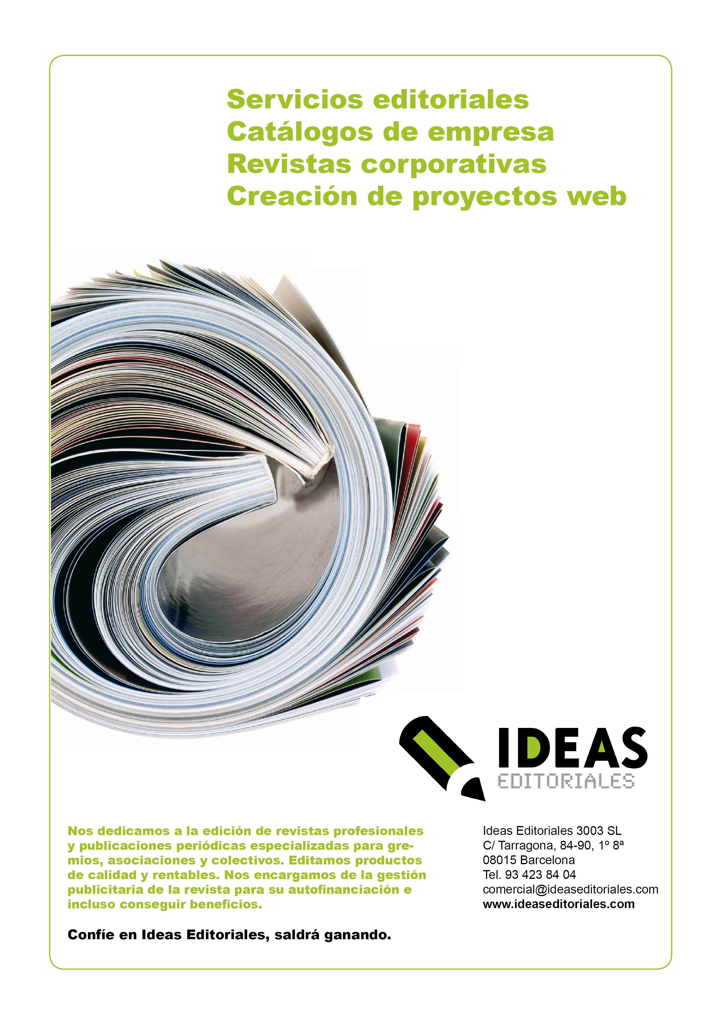 La vuelta al trabajo. Ideas Editoriales ya prepara las nuevas planificaciones de contenidos de sus proyectos editoriales