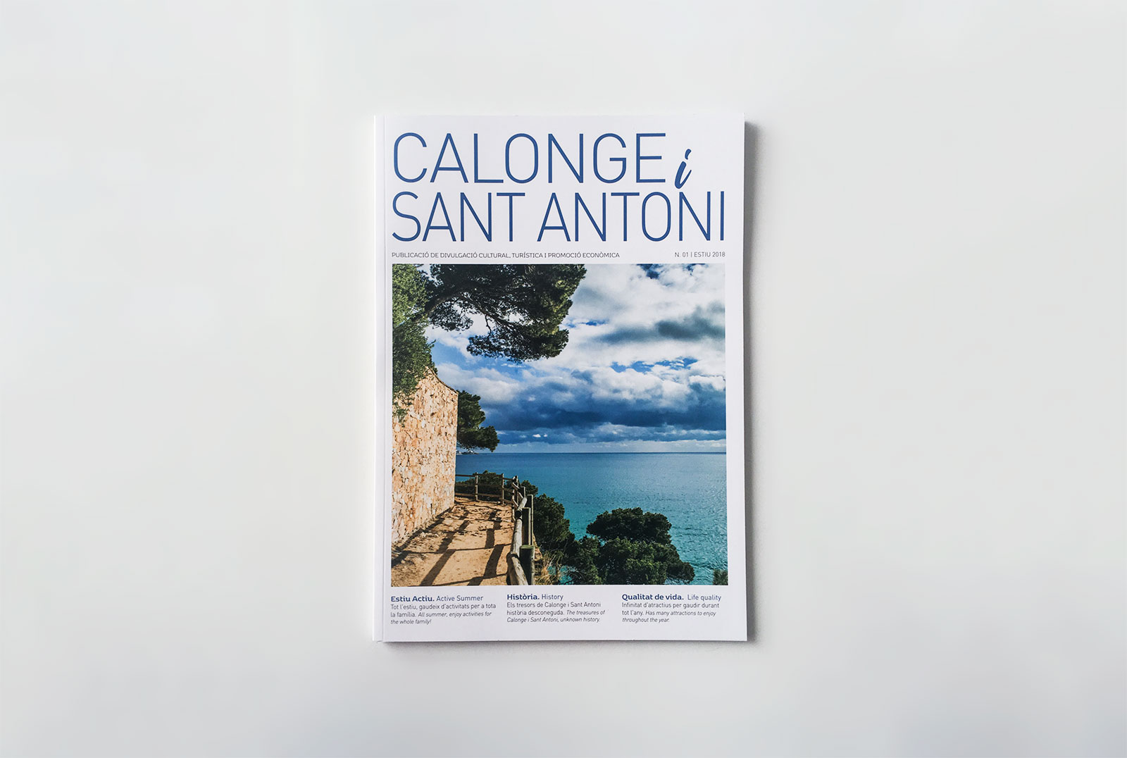 ¡Os presentamos la nueva revista de Calonge i Sant Antoni!