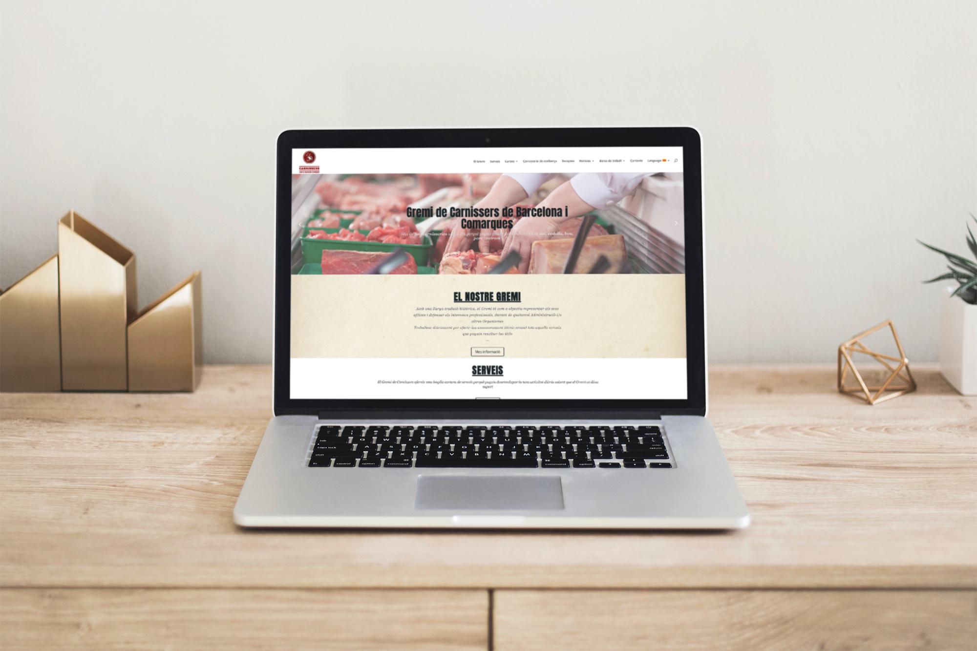 ¡Ya está aquí la nueva web del Gremi Carnissers de Barcelona!